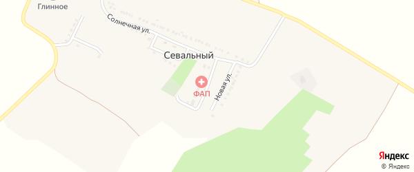 Новая улица на карте Севального хутора с номерами домов