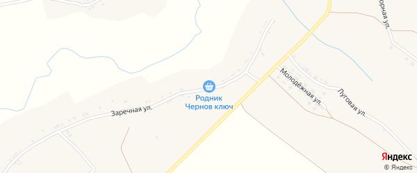 Подгорная улица на карте села Шараповки с номерами домов