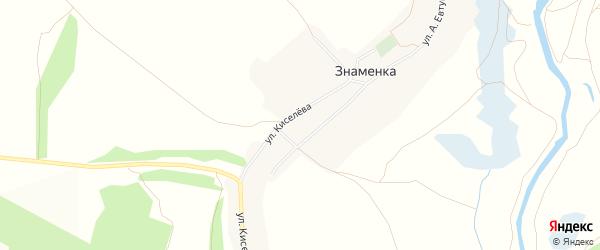 Карта села Знаменки в Белгородской области с улицами и номерами домов