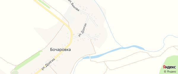 Речной переулок на карте села Бочаровки с номерами домов