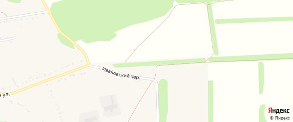 Ивановский переулок на карте села Черниково с номерами домов