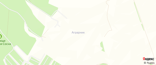 СТ Аграрник на карте Старооскольского района с номерами домов