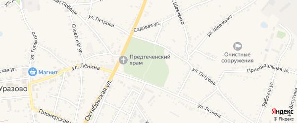 Улица Им Л.Полевничего на карте поселка Уразово с номерами домов
