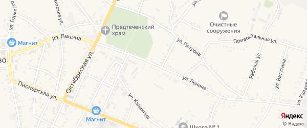 Улица Ленина на карте поселка Уразово с номерами домов