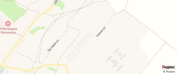 Новая улица на карте Малотроицкого села с номерами домов