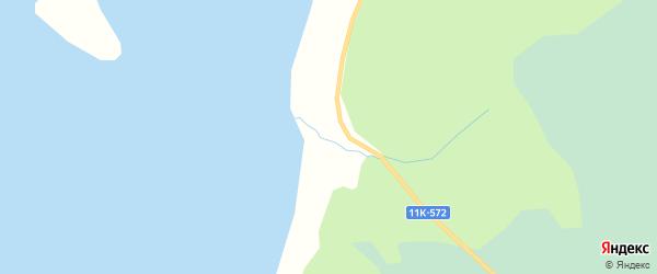 Карта садового некоммерческого товарищества СОТА Лесопильщика в Архангельской области с улицами и номерами домов