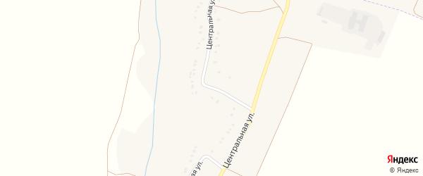 Центральная улица на карте Петровского хутора с номерами домов