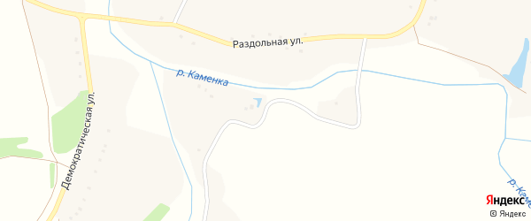 Раздольная улица на карте села Городища с номерами домов