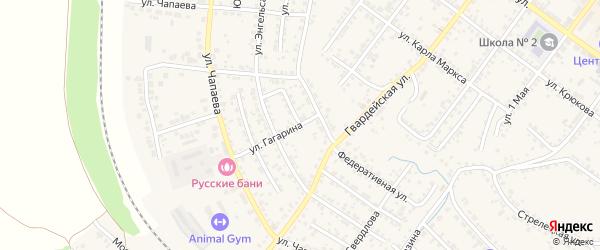 Улица Таранова на карте Валуек с номерами домов
