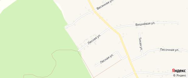 Лесная улица на карте Архангельского села с номерами домов