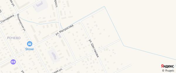 Улица Шестакова на карте Онеги с номерами домов