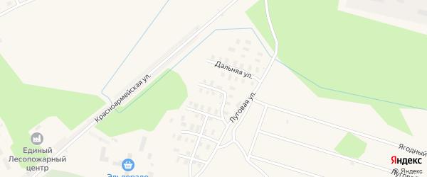Ягодный переулок на карте Онеги с номерами домов