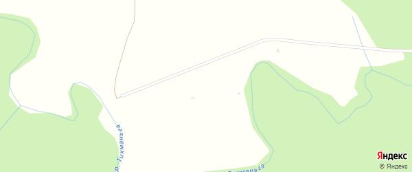 Ручейная улица на карте Илекинская деревни с номерами домов