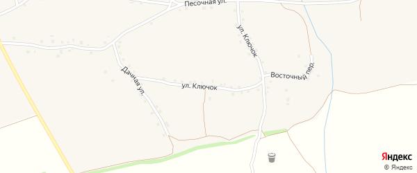 Улица Ключок на карте Архангельского села с номерами домов