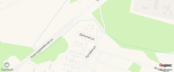 Дальняя улица на карте Онеги с номерами домов