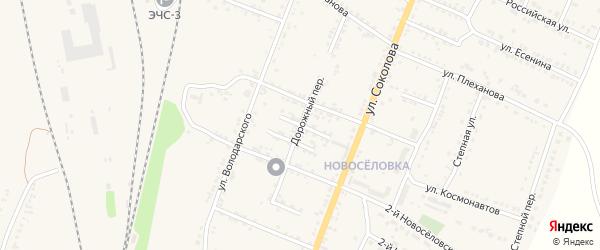 Переулок Лукинова на карте Валуек с номерами домов