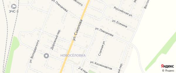 Переулок Шевченко на карте Валуек с номерами домов