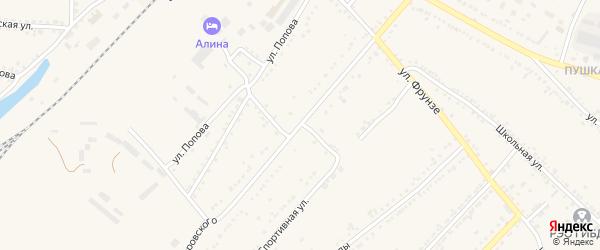 1-й Новоездоцкий переулок на карте Валуек с номерами домов