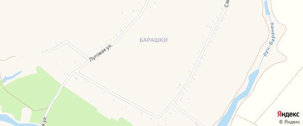 Новая улица на карте Солдатского села с номерами домов