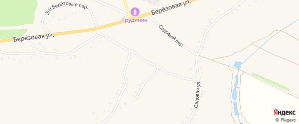1-й Луговой переулок на карте Солдатского села с номерами домов