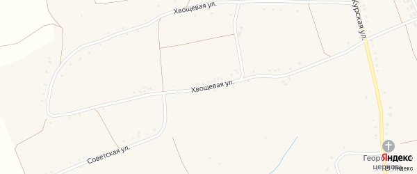 Хвощевая улица на карте села Волотово с номерами домов