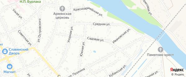 карта славянска-на-кубани улицы
