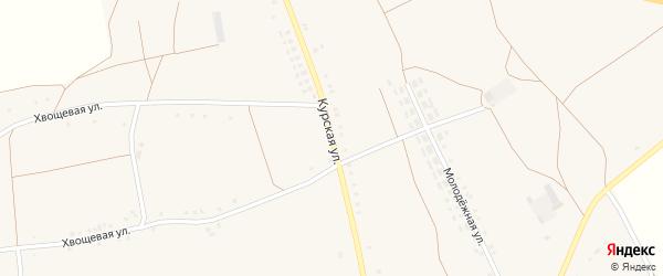 Курская улица на карте села Волотово с номерами домов