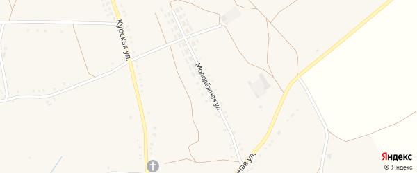 Молодежная улица на карте села Волотово с номерами домов