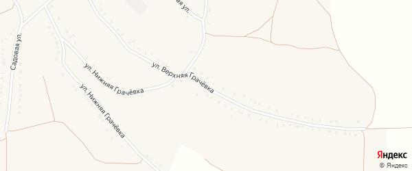 Улица Верхняя Грачевка на карте села Волотово с номерами домов