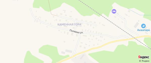 Полярная улица на карте Онеги с номерами домов
