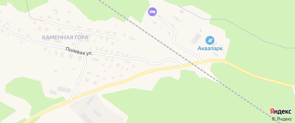 Полевая улица на карте Онеги с номерами домов