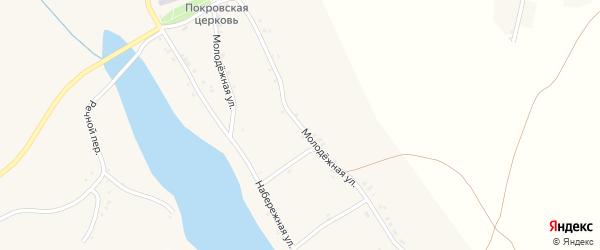 Молодежная улица на карте села Палатово с номерами домов
