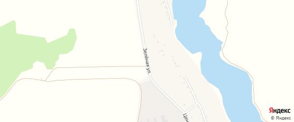 Заречная улица на карте села Потудани с номерами домов