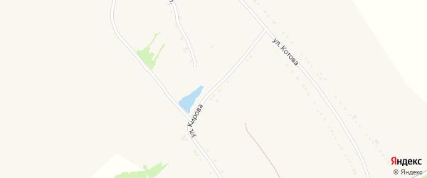 Улица Кирова на карте села Верхососны с номерами домов