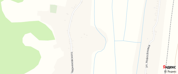 Улица Мира на карте села Валуйчика с номерами домов