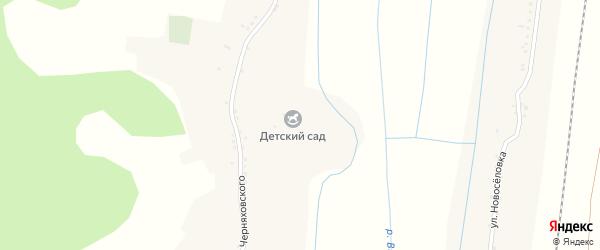 Улица Черняховского на карте села Валуйчика с номерами домов