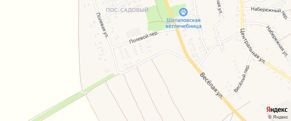 Полевая улица на карте села Шаталовки с номерами домов