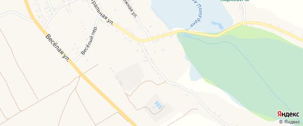 5-й Центральный переулок на карте села Шаталовки с номерами домов