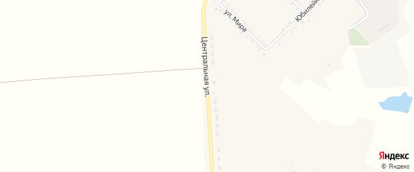 Центральная улица на карте села Зенино с номерами домов