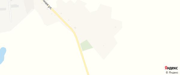 Солнечная улица на карте хутора Кандабарово с номерами домов