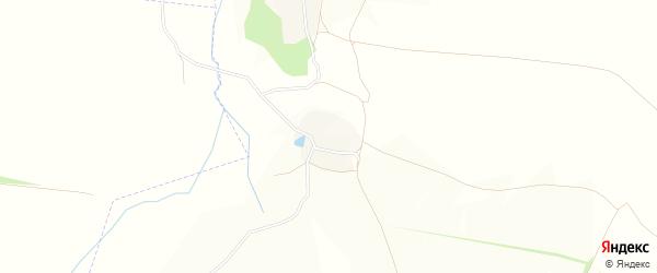 Карта хутора Шидловки в Белгородской области с улицами и номерами домов