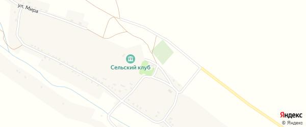 Улица Мира на карте села Прилепы с номерами домов