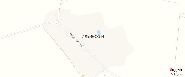 Ильинская улица на карте Ильинского хутора с номерами домов