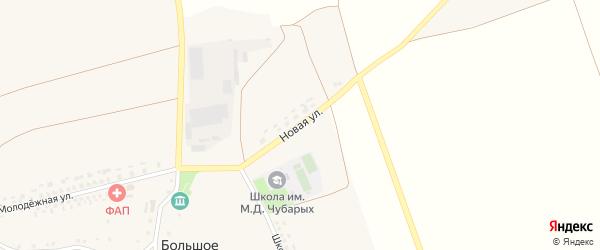 Новая улица на карте Большого села с номерами домов