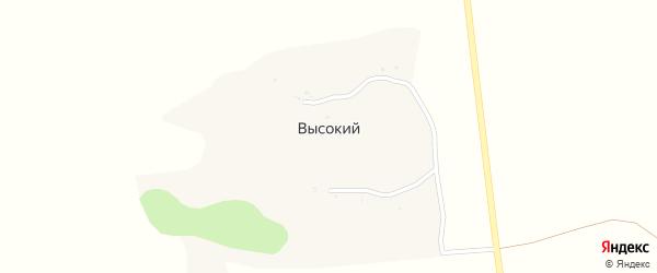 Лесная улица на карте Высокого хутора с номерами домов