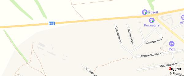 Улица 8 Марта на карте Бирюча с номерами домов