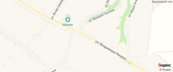 Улица Владимира Ленина на карте Роговатого села с номерами домов