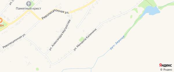 Улица Михаила Калинина на карте Роговатого села с номерами домов