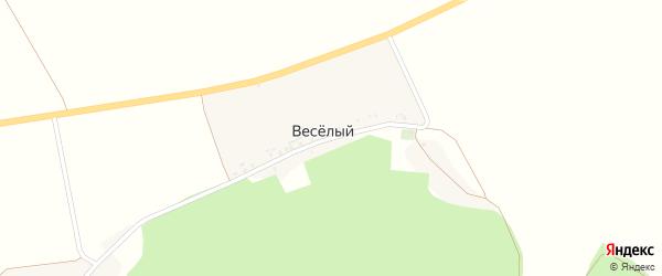 Центральная улица на карте Веселого хутора с номерами домов