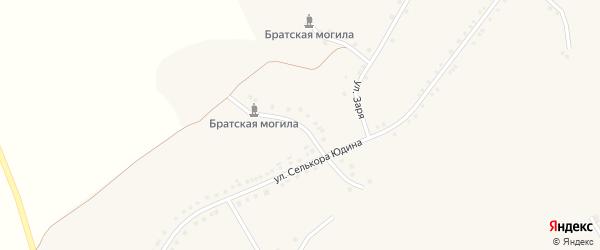 Им Селькора Юдина 2-й переулок на карте села Новоуколово с номерами домов